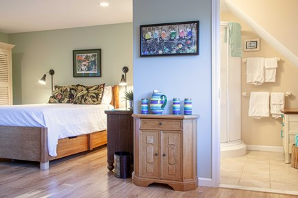 Katama - Edgartown Martha's Vineyard vacation rental - Bathroom conveniently located.