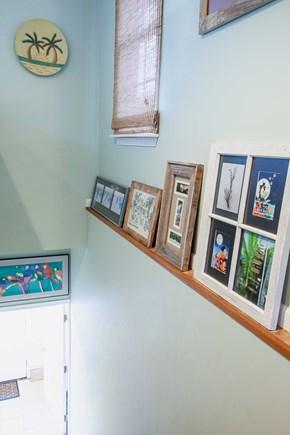 Katama - Edgartown Martha's Vineyard vacation rental - Entry stairway into your private, studio apartment.