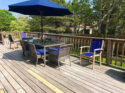Katama - Edgartown, Edgartown Martha's Vineyard vacation rental - 500 sq ft deck with two gas grills