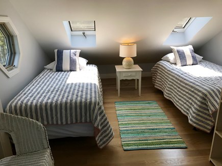 Katama - Edgartown, Edgartown Martha's Vineyard vacation rental - 2nd set of twin beds separated by bi-fold doors