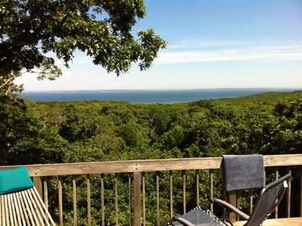Chilmark Martha's Vineyard vacation rental - Day view from deck