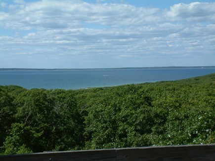 Chilmark Martha's Vineyard vacation rental - View from deck. Chilmark Vacation Rental ID 2903