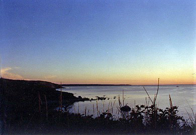 Chilmark Martha's Vineyard vacation rental - Sunset from bluffs
