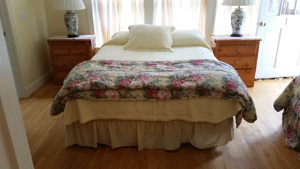 West Tisbury Village Martha's Vineyard vacation rental - Bedroom #1 has a queen, single and private shower bathroom.