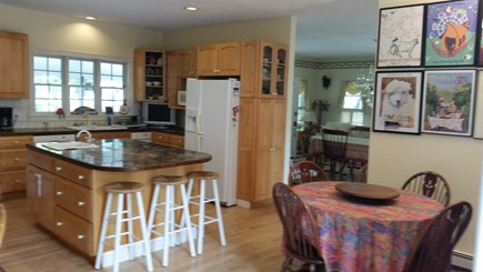 West Tisbury Village Martha's Vineyard vacation rental - The fully equipped gourmet kitchen would please any chef!
