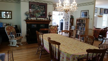 West Tisbury Village Martha's Vineyard vacation rental - Beautiful formal dining room with plenty of seating.