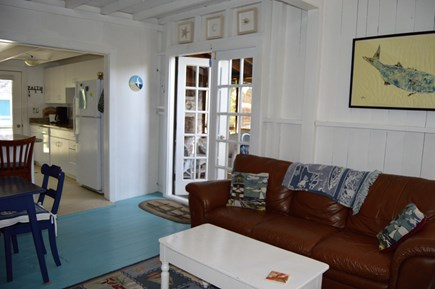 Oak Bluffs harbor In-town Martha's Vineyard vacation rental - Living room