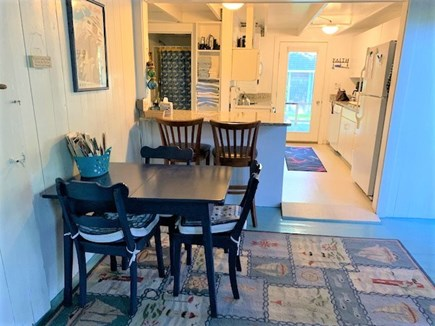 Oak Bluffs harbor In-town Martha's Vineyard vacation rental - Dining area- (also a table in screened porch)