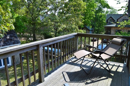 Oak Bluffs harbor Martha's Vineyard vacation rental - 2nd story blacony