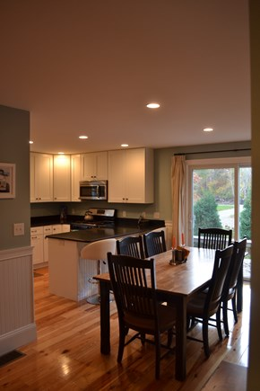 Oak Bluffs Martha's Vineyard vacation rental - Dining Area opens to back Deck & Screened Porch