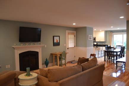 Oak Bluffs Martha's Vineyard vacation rental - Open Floor Plan Continues Out to the Screened Porch.