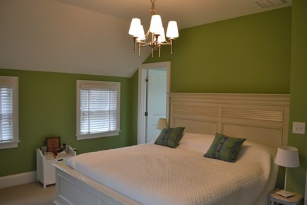 Oak Bluffs Martha's Vineyard vacation rental - Master bedroom has a king bed and en suite.