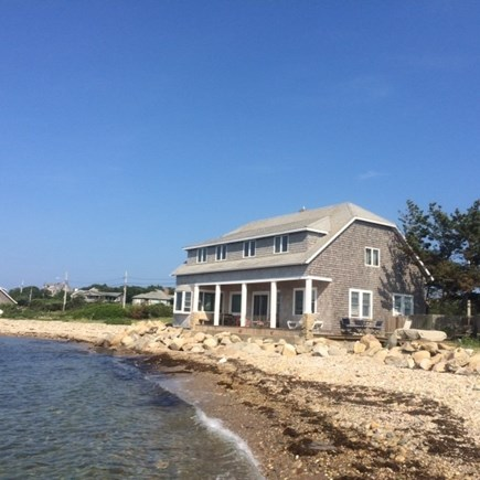 Oak Bluffs, East Chop Martha's Vineyard vacation rental - On the beach!