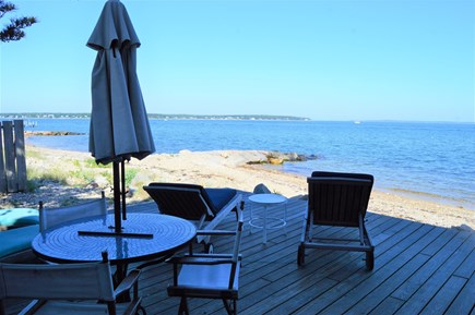 Oak Bluffs, East Chop Martha's Vineyard vacation rental - Outdoor dining