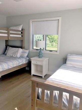 Katama - Edgartown, Edgartown Martha's Vineyard vacation rental - Fourth bedroom with bunk and twin bed