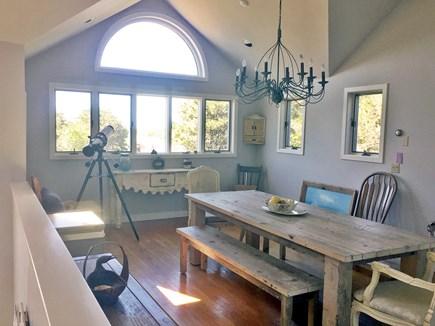 Katama - Edgartown, Edgartown Martha's Vineyard vacation rental - Dining Room with deck overlooking Katama Airport