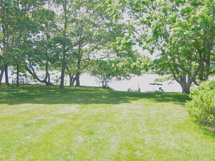 Katama - Edgartown, Edgartown Martha's Vineyard vacation rental - Lawn down to the water