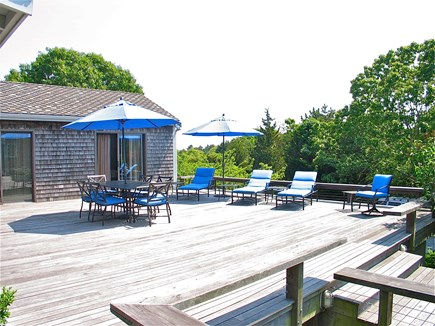 Katama - Edgartown, Edgartown Martha's Vineyard vacation rental - Huge Sunny Deck