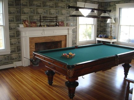 Oak Bluffs Martha's Vineyard vacation rental - Fully equipped antique Pool Room