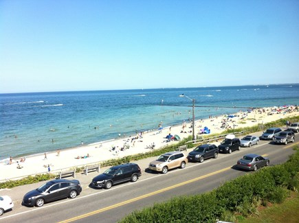 Oak Bluffs Martha's Vineyard vacation rental - View of the Inkwell Beach from the attic
