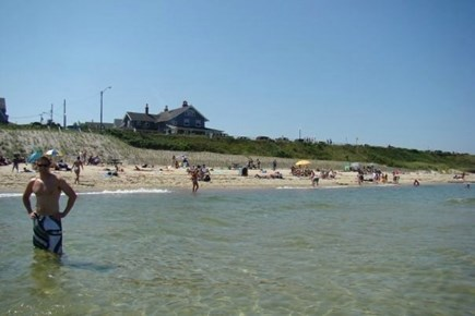 Oak Bluffs Martha's Vineyard vacation rental - View of the house from the Inkwell Beach