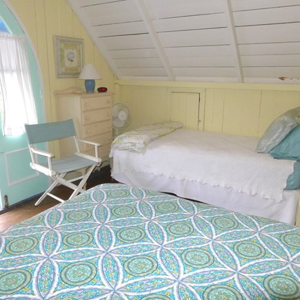 Oak Bluffs Martha's Vineyard vacation rental - Master bedroom with full and twin