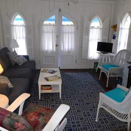 Oak Bluffs Martha's Vineyard vacation rental - Light and bright living room
