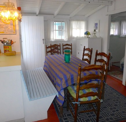 Oak Bluffs Martha's Vineyard vacation rental - Dining table