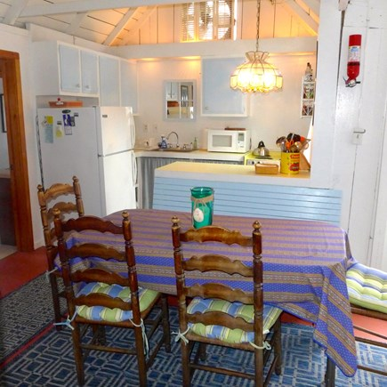 Oak Bluffs Martha's Vineyard vacation rental - Dining and kitchen area
