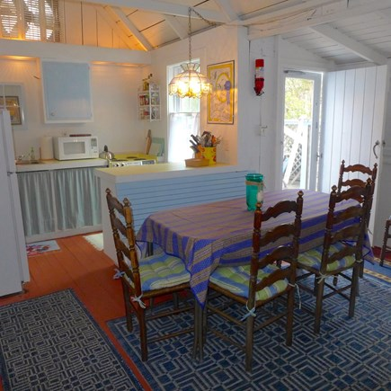 Oak Bluffs Martha's Vineyard vacation rental - Door to back deck and grilling area off dining room