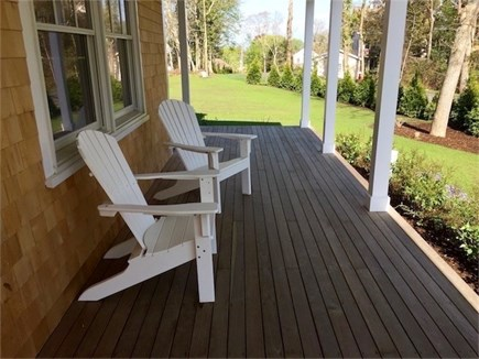 Vineyard Haven Martha's Vineyard vacation rental - Front Porch