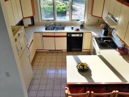 Edgartown-Chappaquiddick Martha's Vineyard vacation rental - Fully equipped Kitchen with snack bar-for every cooking need