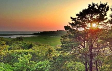 Edgartown-Chappaquiddick Martha's Vineyard vacation rental - Scenic evening sunset