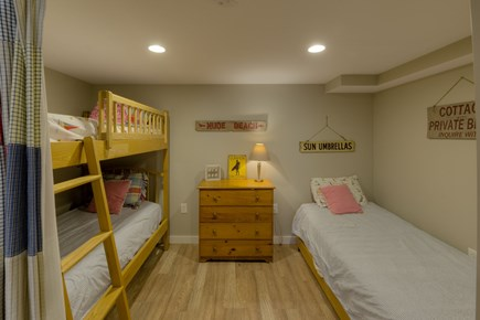 Katama - Edgartown, Katama Martha's Vineyard vacation rental - Bunk Room, a fun place to hang out and tell bed-time stories.