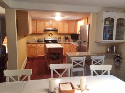 Oak Bluffs Martha's Vineyard vacation rental - Kitchen and Dining Area
