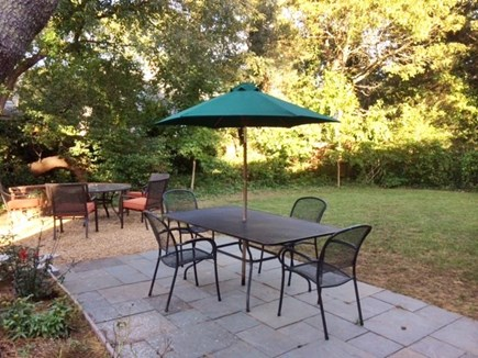 Oak Bluffs Martha's Vineyard vacation rental - Private Fenced Back Yard with Patio