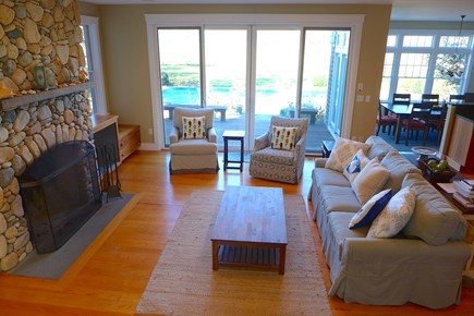 West Tisbury Martha's Vineyard vacation rental - Spacious Open Living Area