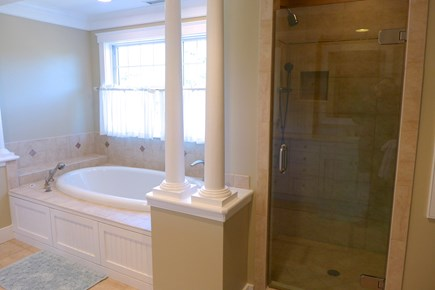 West Tisbury Martha's Vineyard vacation rental - Master Bathroom