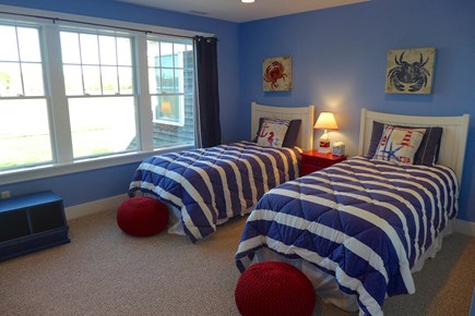 West Tisbury Martha's Vineyard vacation rental - Bedroom 3 with 2 Twin Beds