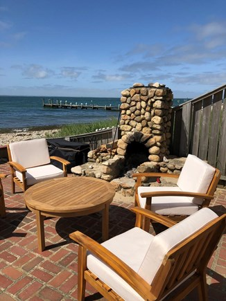 Oak Bluffs, East Chop Martha's Vineyard vacation rental - Patio for relaxing