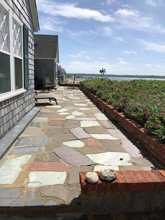 Oak Bluffs, East Chop Martha's Vineyard vacation rental - Beautiful patio with a great view