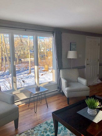 Edgartown Martha's Vineyard vacation rental - Comfortable seating with a great view of nature!