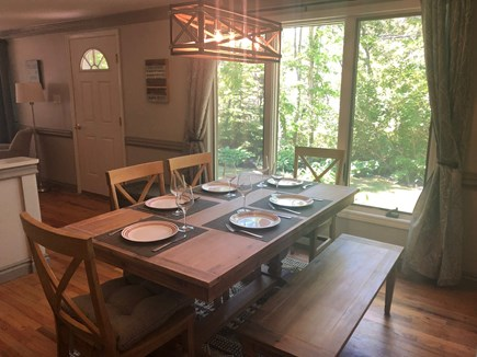 Edgartown, Oak Bluffs Martha's Vineyard vacation rental - Dining Room Seats 6.