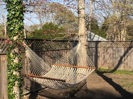 Edgartown, Oak Bluffs Martha's Vineyard vacation rental - Hammock by the garden for lazy days