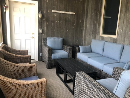 Edgartown, Oak Bluffs Martha's Vineyard vacation rental - Private, screened-in sun porch.