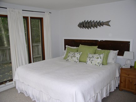 West Tisbury Martha's Vineyard vacation rental - Another view of the tastefully decorated and light-filled king BR