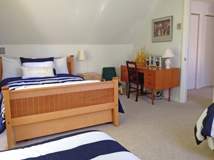 West Tisbury Martha's Vineyard vacation rental - Same large bedroom showing desk area