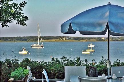 Katama - Edgartown, Edgartown Martha's Vineyard vacation rental - View From Deck across Katama Bay to Chappy
