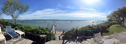 Katama - Edgartown, Edgartown Martha's Vineyard vacation rental - View from the deck across Katama Bay to Chappy