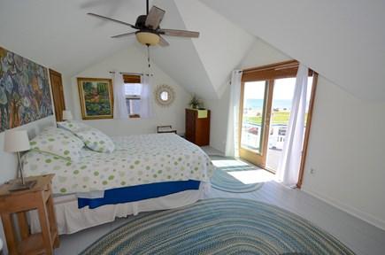 oak bluffs Martha's Vineyard vacation rental - Master Bedroom with Balcony